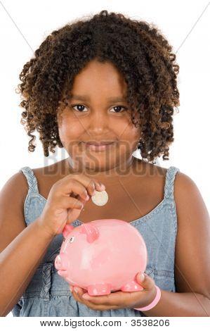 Girl Money Box