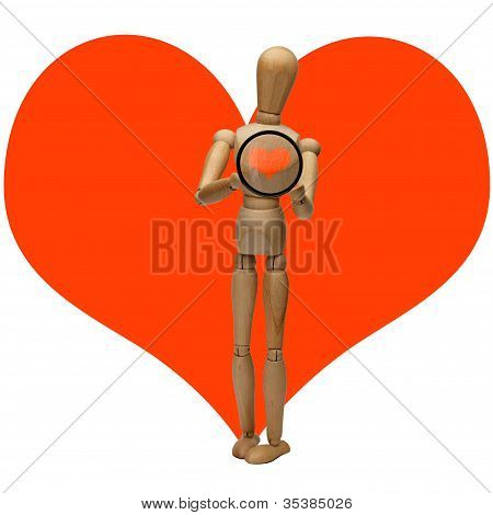 manikin and heart