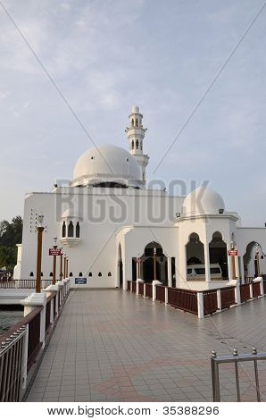 Mosque at dusk