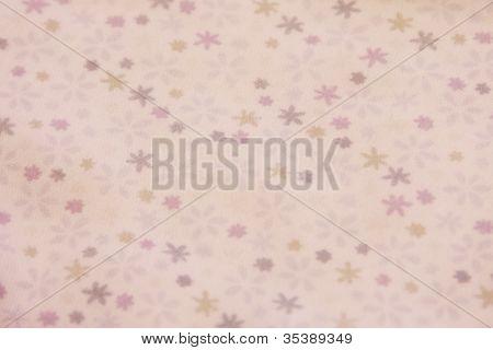 purple floral vintage fabric paper