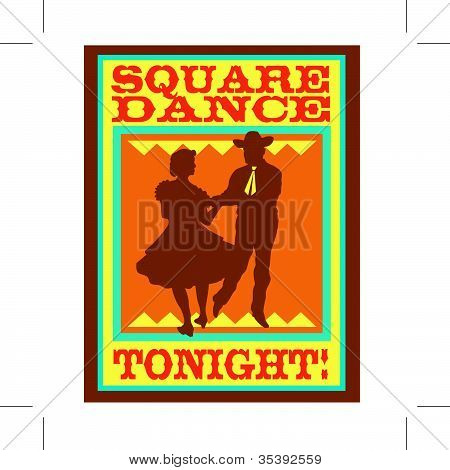 Square Dance Sign