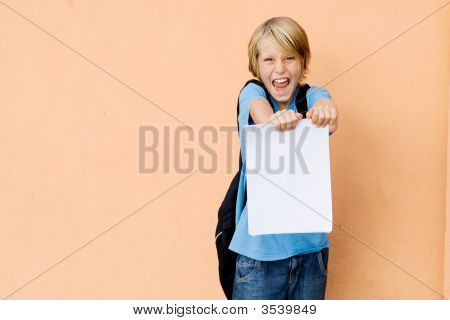 Child With Good Exam Results