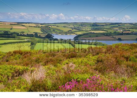 Wimbleball Lake Exmoor Somerset