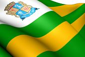 image of bandeiras  - Flag of Aracaju Brazil - JPG