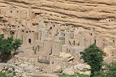 stock photo of dogon  - Old Dogon houses in Dogonland - JPG
