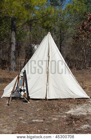 Civil War Cannon Camp