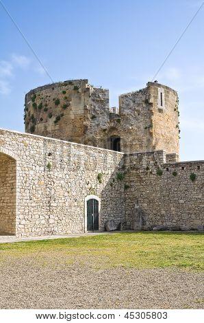 Castle of Venosa. Basilicata. Italy.