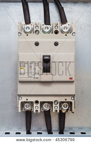 Three Phase Circuit Breaker
