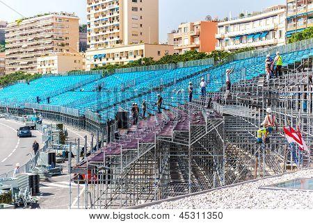 Preparation for Grand Prix Automobile F1