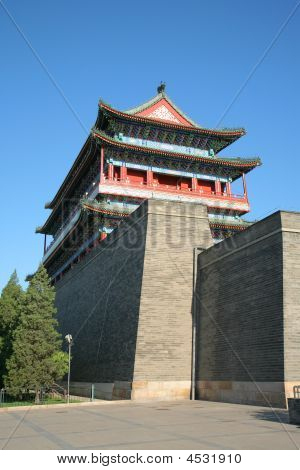 Front Gate Tiananmen Square Beijing China Asia