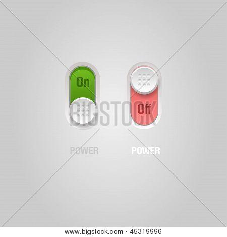 Power sliders