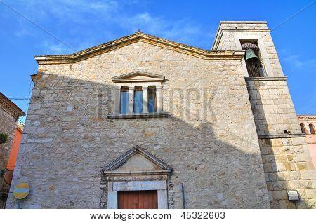 Church of St. Maria della Scala. Venosa. Basilicata. Italy.