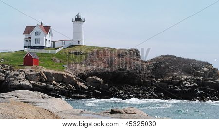 Cape Neddick Lighthouse, Maine USA