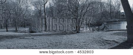 Milton Lake Park Panorama