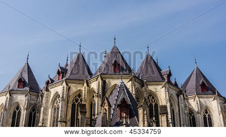Saint-Maurice church in Lille