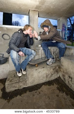 Smoking Shelter