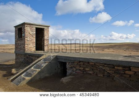 WW2 gunnery site