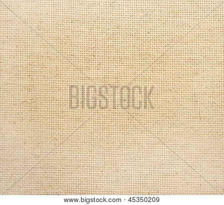 Close-up canvas texture