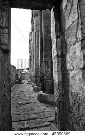 Luxor Temple Holy Court