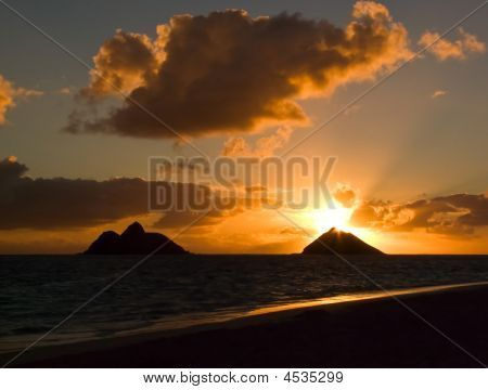 Sunrise Lanikai Beach