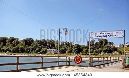 Wustrow Pier