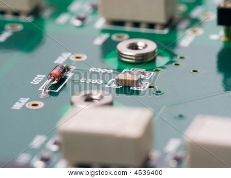Printed Circuit Board - Bottom Layer