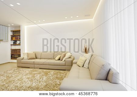 Part Of Luxury Modern Living Room