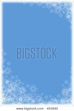 Marco de Navidad - Color azul