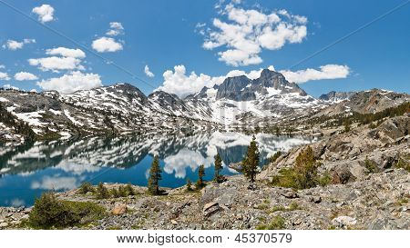 Stunning Alpine Lake Scenery
