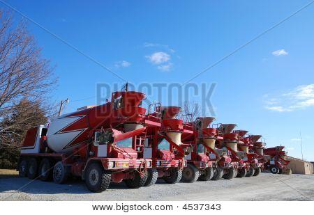 Camiones de concreto de Ready Mix