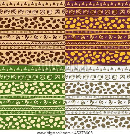 African Seamless Patterns