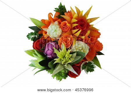 Flowers From Vegetables