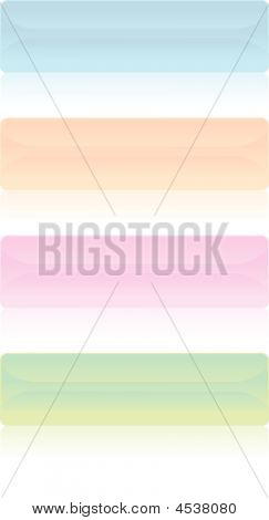 Banners/ Buttons - Vector Image