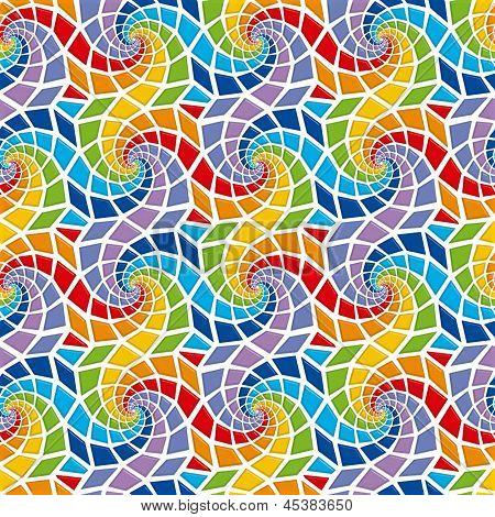 Mosaic Seamless Pattern