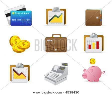 Money And Finance Icon