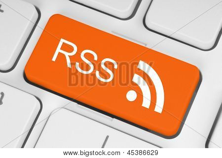 RSS button on keyboard
