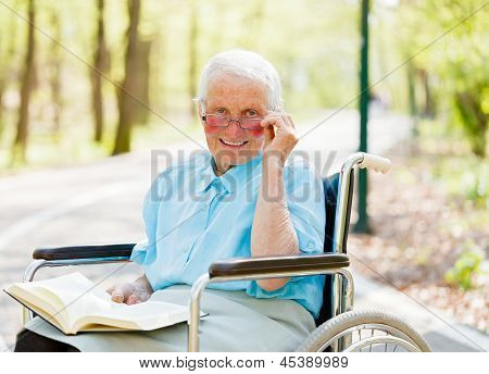 Storyteller Elderly Lady