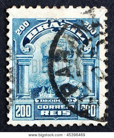 Postage Stamp Brazil 1906 Manuel Deodoro Da Fonseca