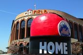 Citi Field, home of major league baseball team the New York Mets in Flushing, NY.