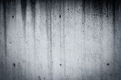stock photo of classic art  - black and white background with accent light on border and vintage grunge texture - JPG