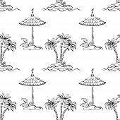 pic of canopy roof  - Seamless pattern - JPG