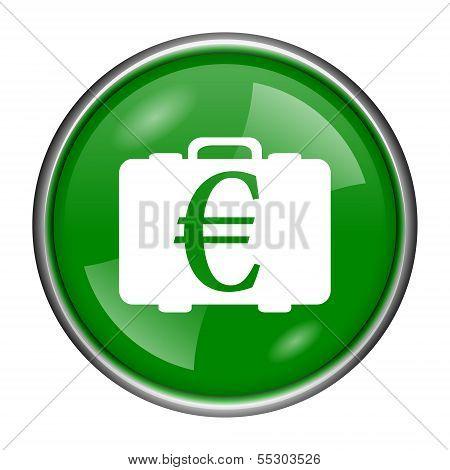 Euro Bag Icon
