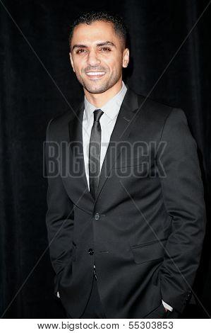 NEW YORK-DEC 3: Actor Sammy Sheik attends the premiere of