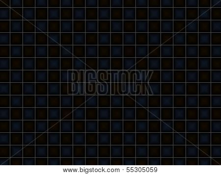 Abstract Black Squared Background