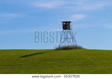 High Seat On A Meadow