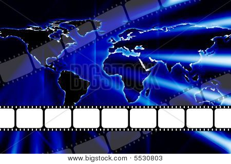World Class Movie Film Reel Strip