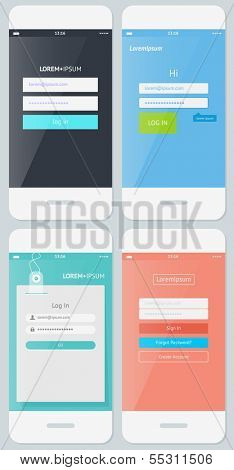 Beautiful Examples of Login Forms for Websites and Apps