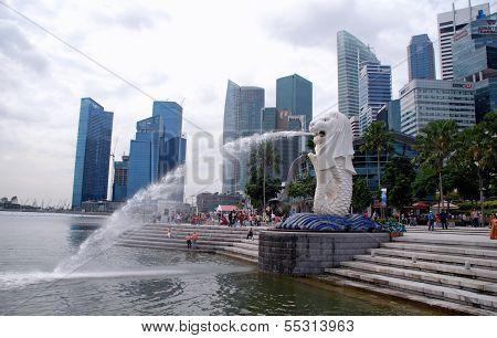 Parque Merlion, Singapur