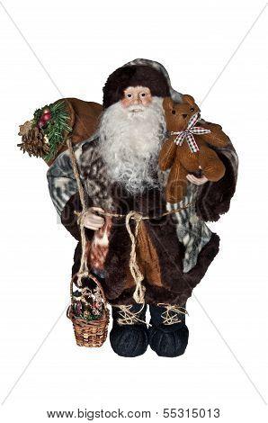 Saint Nicolas as Santa Claus