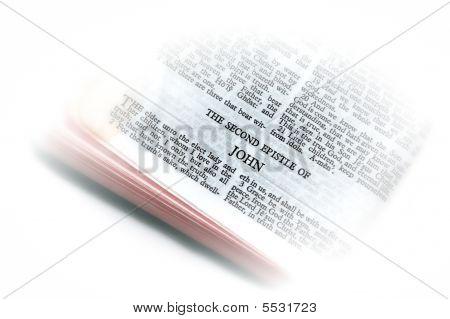 Bíblia aberta para John Ii vinheta